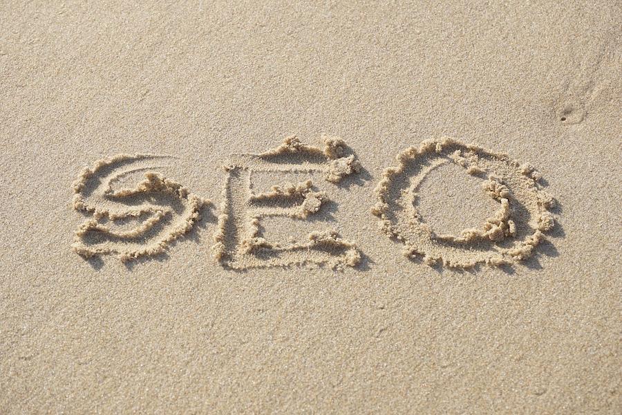 lexique seo plage sable